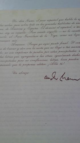 cartas de su pluma y tinta que desde españa escribio andres