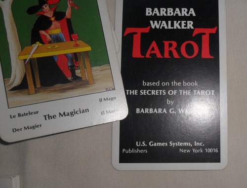 cartas de tarot barbara walker