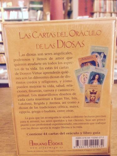 cartas del oráculo de las diosas - doreen virtue - arkano