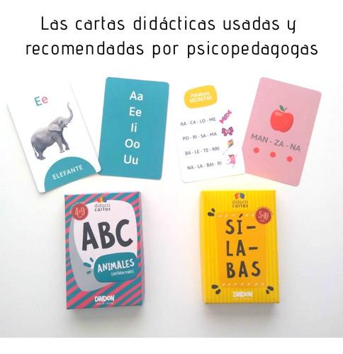 cartas didácticas para aprender a leer. retiro en villa urqu