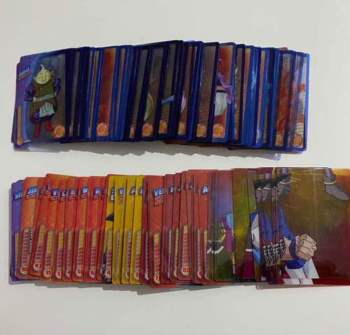 cartas dragon ball super de colección - panini