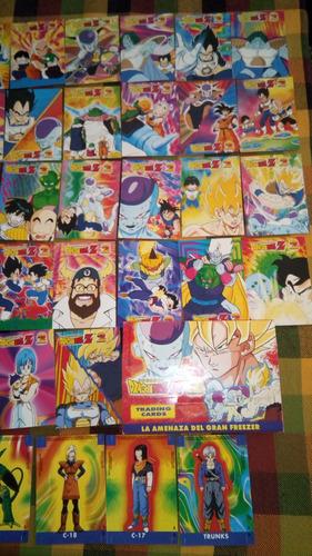cartas dragon ball z 2 de navarrete 1998