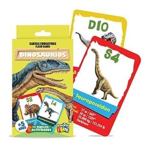 cartas educativas dinosaurios