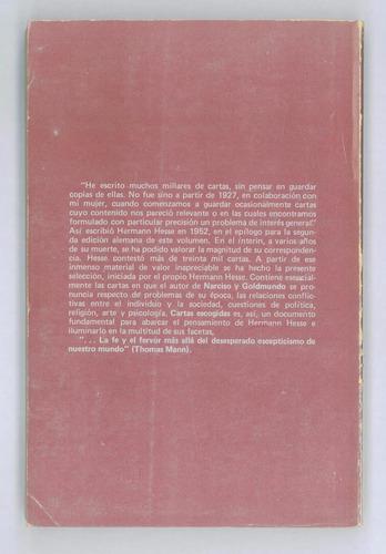 cartas escogidas - hermann hesse