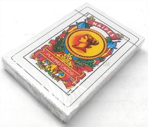 Cartas espa olas juego de mesa naipes 40 cartas barajas for Ni si ni no juego de mesa