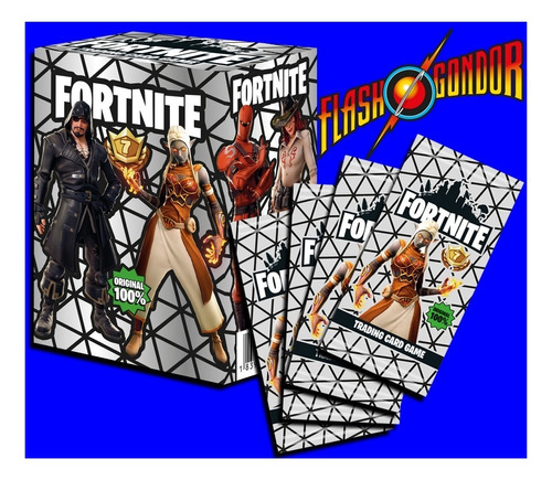 cartas fortnite - caja cualquier color