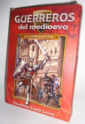 cartas guerreros del medioevo la conquista