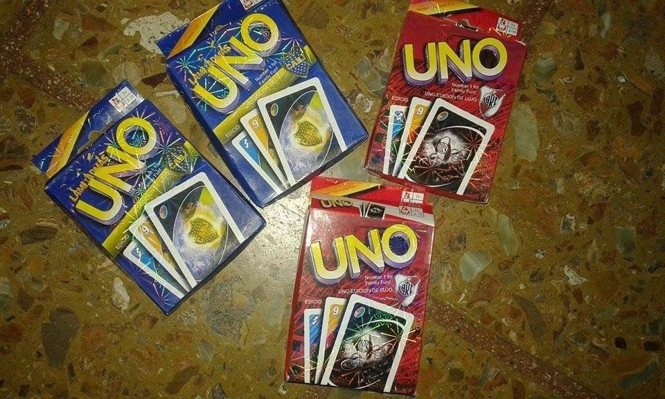 Cartas Juegos De Uno De Boca Y River 95 00 En Mercado Libre