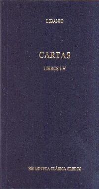 cartas. libros i-v(libro griega y romana)