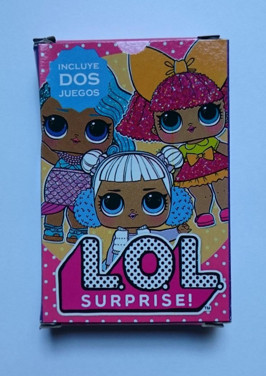 Cartas Lol Surprise Naipes Juego De Cartas Ideal Souvenir 15 00