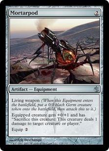 cartas magic: 4 mortarpod nmint - mirrodin besieged!!!