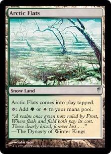 cartas magic arctic flats lista premiun yawg's