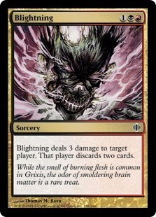 cartas magic blightning (sp) lista premiun yawg's