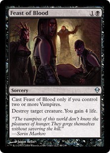 cartas magic blood feast lista premiun yawg's