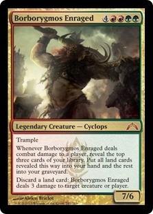 cartas magic borborygmos enraged lista premiun yawg's