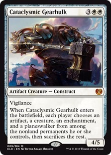 cartas magic cataclysmic gearhulk lista premiun yawg's