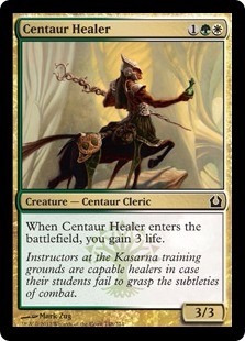 cartas magic centaur healer lista premiun yawg's