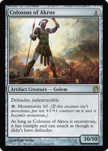 cartas magic colossus of akros lista premiun yawg's