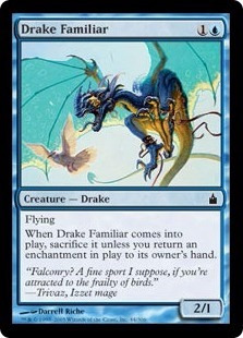 cartas magic drake familiar lista premiun yawg's
