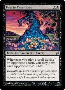 cartas magic faerie tauntings lista premiun yawg's