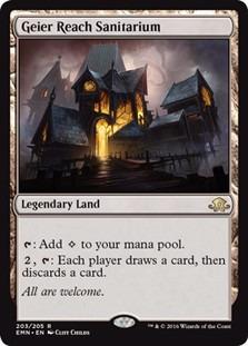 cartas magic geier reach sanitarium lista premiun yawg's