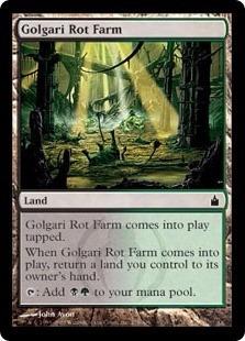 cartas magic golgari rot farm lista premiun yawg's