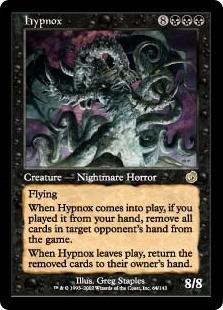 cartas magic hypnox lista premiun yawg's