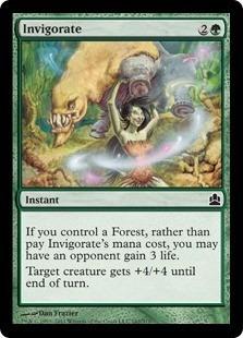 cartas magic invigorate lista premiun yawg's