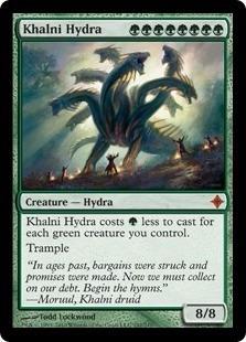 cartas magic khalni hydra lista premiun yawg's