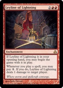 cartas magic leyline of lightning lista premiun yawg's