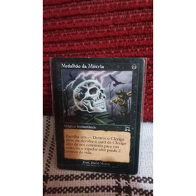 Cartas Magic Medalhão Da Miseria