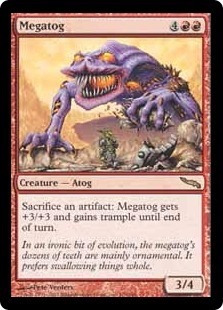 cartas magic megatog lista premiun yawg's