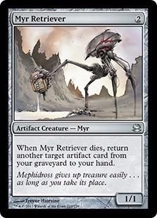 cartas magic myr retriever lista premiun yawg's