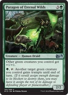 cartas magic paragon of eternal wilds lista premiun yawg's
