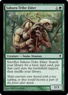 cartas magic sakura-tribe elder lista premiun yawg's