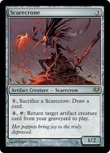 cartas magic scarecrone lista premiun yawg's