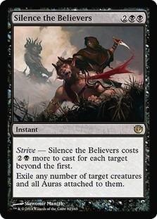 cartas magic silence the believers lista premiun yawg's