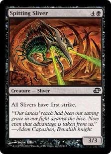 cartas magic spitting sliver lista premiun yawg's