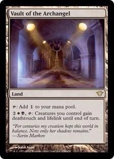 cartas magic vault of the archangel lista premiun yawg's