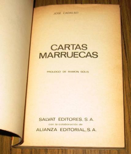 cartas marruecas josé cadalso salvat rtv españa historia
