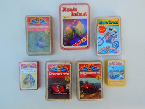 cartas mini tope quartes - helicopteros- animales - varios -