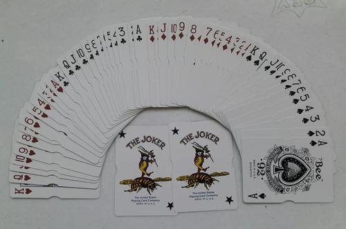 cartas, naipes, barajas bee casino atlantic city originales