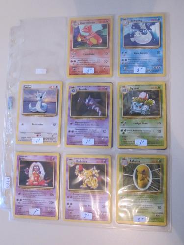 cartas pokemon ivysaur base set