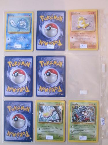 cartas pokemon poliwag base set