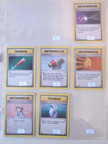 cartas pokemon recuperacion de energia base set