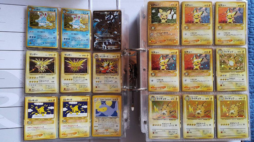 cartas pokemon vieja escuela