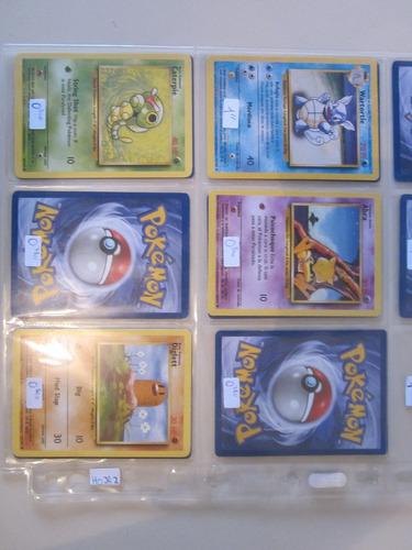 cartas pokemon wartortle base set