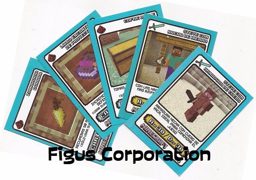 Cartas Pokemon Y Minecraft Sueltas A Eleccion Todas 10 00