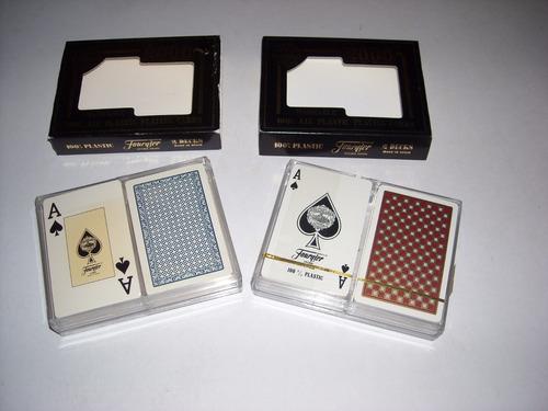 cartas poker fournier 100% plasticas hechas en españa