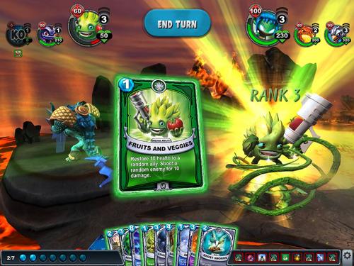 cartas skylanders battlecast, 8 cartas realidad aumentada